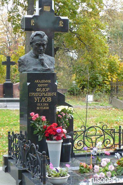 Магила Углова Ф. Г.
