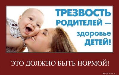 Трезвость родителей